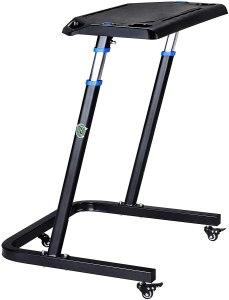 rad cycle adjustable treadmill desk with wheels