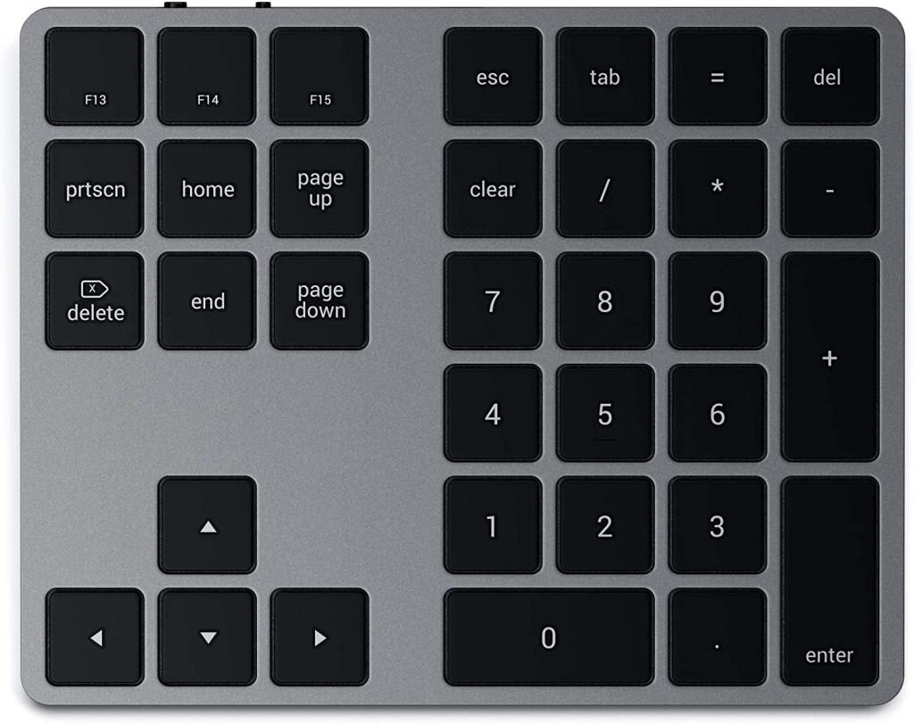 Satechi Bluetooth Extended Numeric Keypad