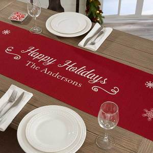 best christmas decorations scenic snowflakes table decor