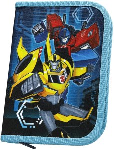 transformers toys pencil case optimus bumblebee