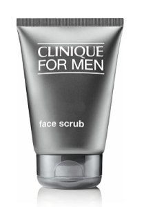 clinique men's facial scrub, best facial scrubs