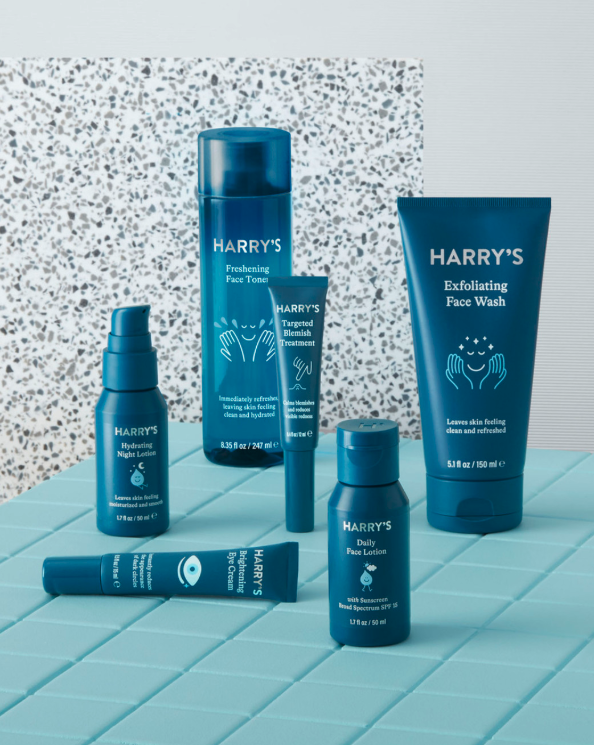 Harry's full skin care suite, best Christmas gifts