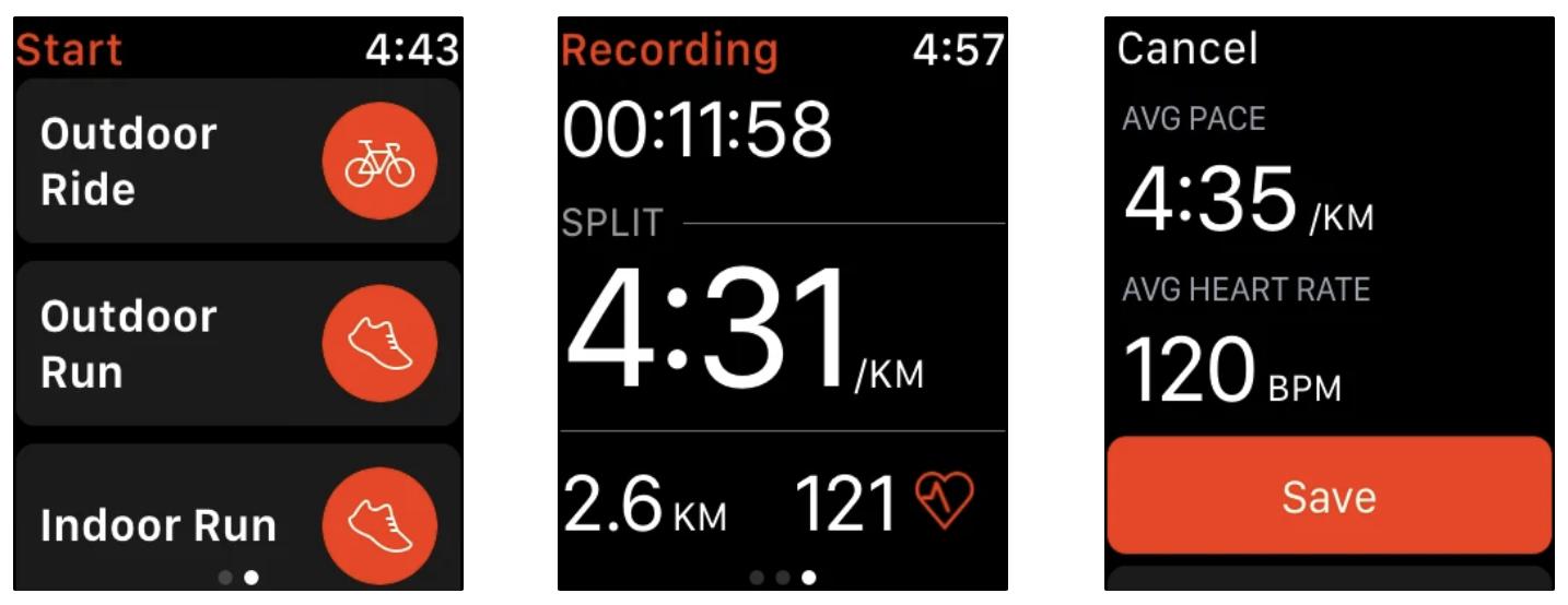 strava activity tracker