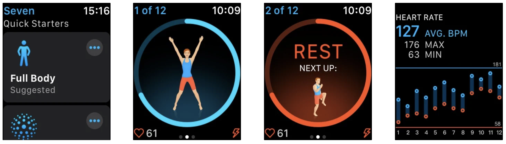 seven 7 minute workout app
