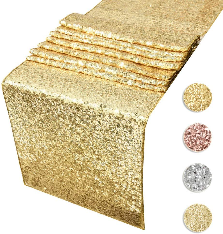 Sequin Table Runners by Acrabros