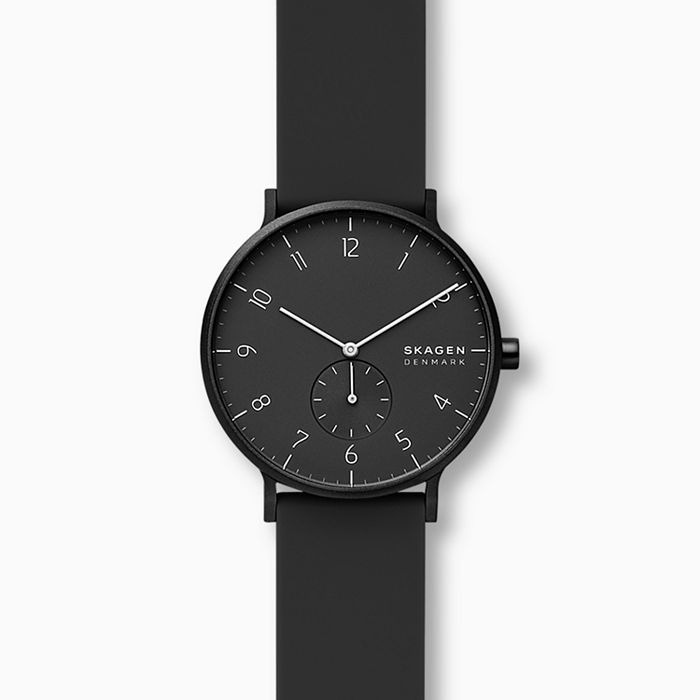 best skagen watches - Skagen Aaren Kulor Rubber Strap Watch