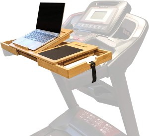 SmartFitness laptop holder, best treadmill desk