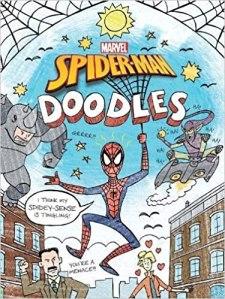 spider man doodles doodle book