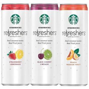 natural energy drinks starbucks refreshers