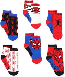 super hero adventure spider man socks