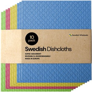 eco friendly cleaning products swedish dishcloth cellulose