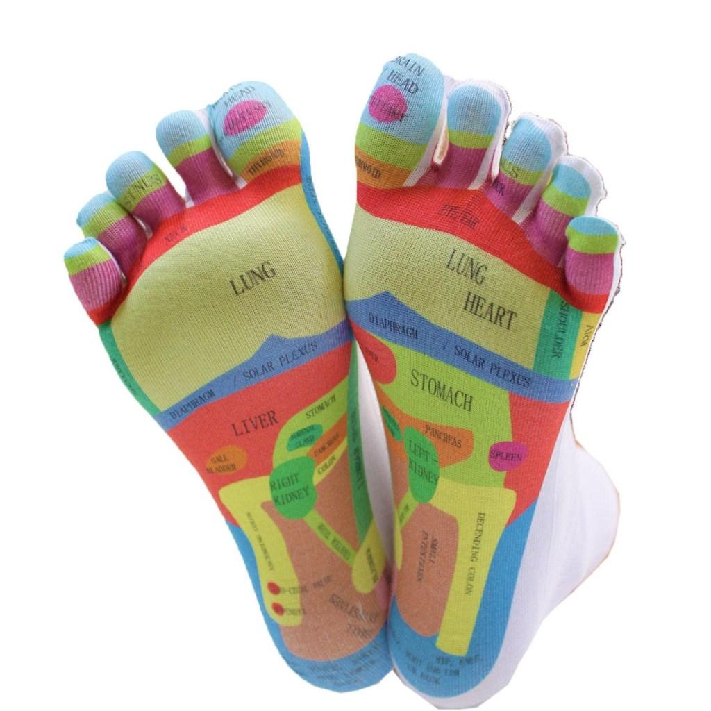 TOETOE Reflexology Toe Socks