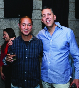 Tony Hsieh and Fred Mossler