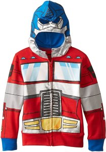 transformers optimus prime boys hoodie