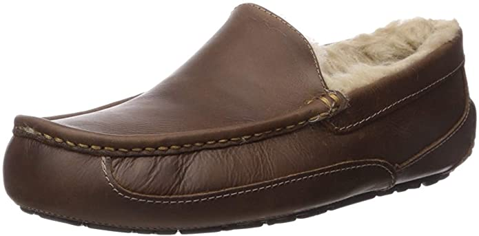 best gifts for working from home - Ascot Leather Slipper by UGG