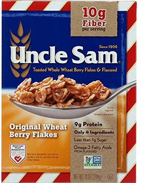 uncle sam healthy cereal