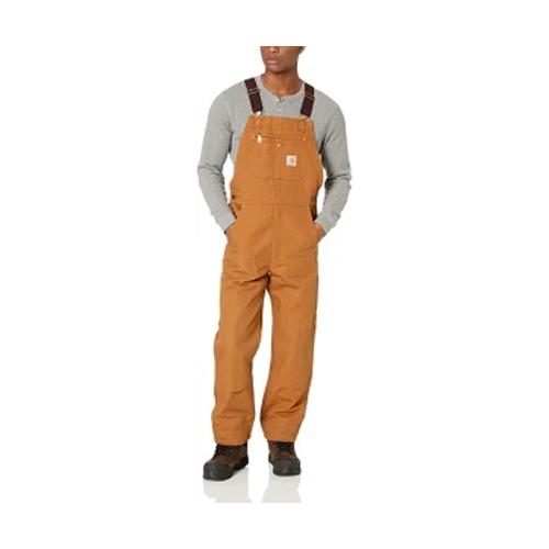 men's overalls -  Carhartt Men's Relaxed Fit Duck Bib Overall (in carhartt brown)