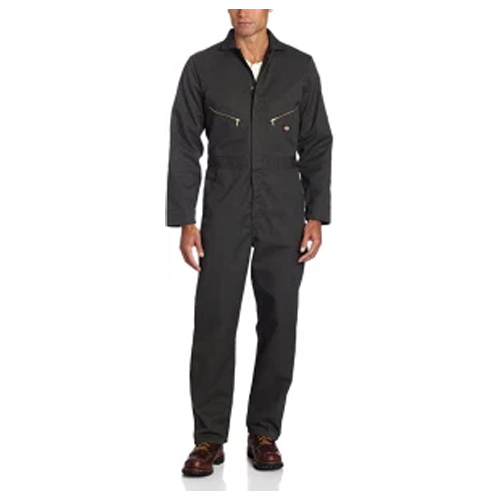 best overalls for men -  Dickies Men's Long Sleeve Coverall (in Olive Green)