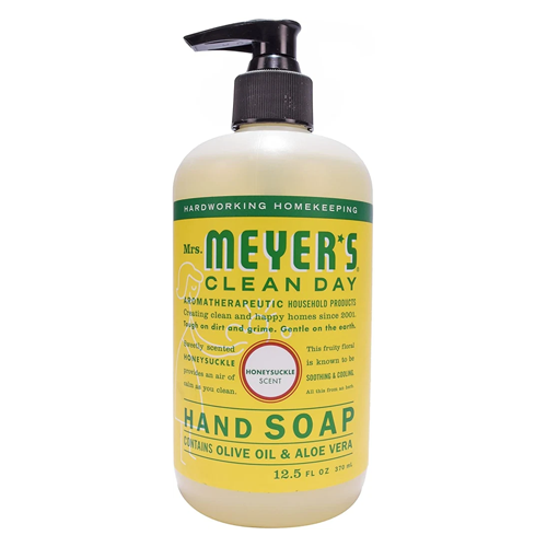 mrs. meyer's hand soap, eco-friendly cleaning products