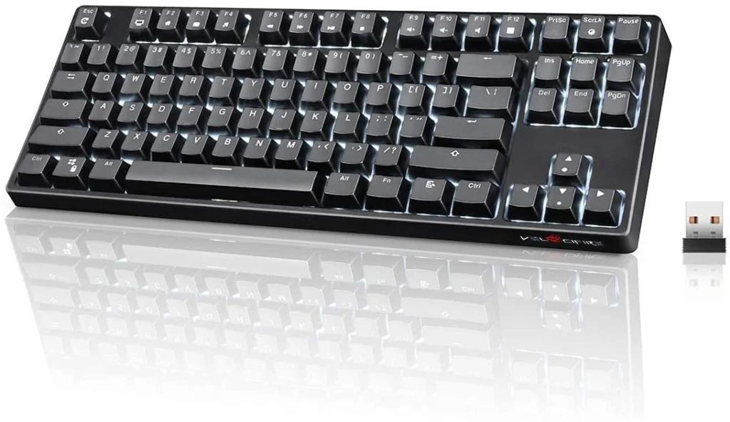 VELOCIFIRE Mechanical Wireless Keyboard