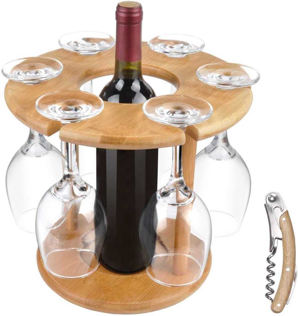 Vina Store Rack and Bottle Holder