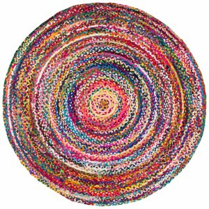 kitchen area rugs waterford handmade braided colorful round