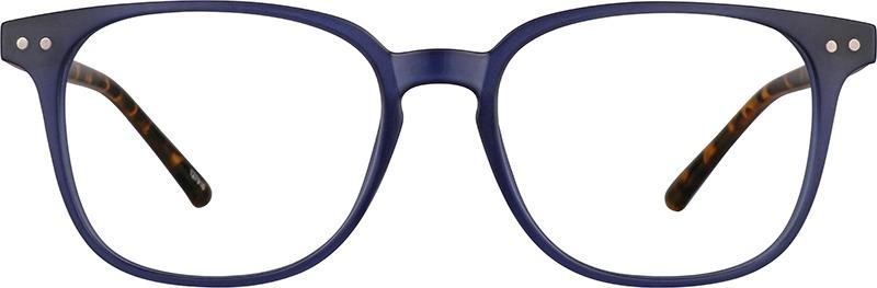 best blue light glasses - Zenni Optical Square Glasses 127916 in blue