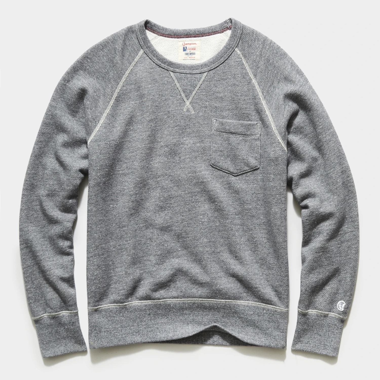 Todd Snyder x Champion Pocket Sweatshirt