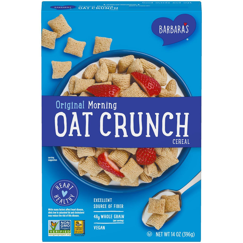 barbaras morning oat crunch, healthy breakfast cereal