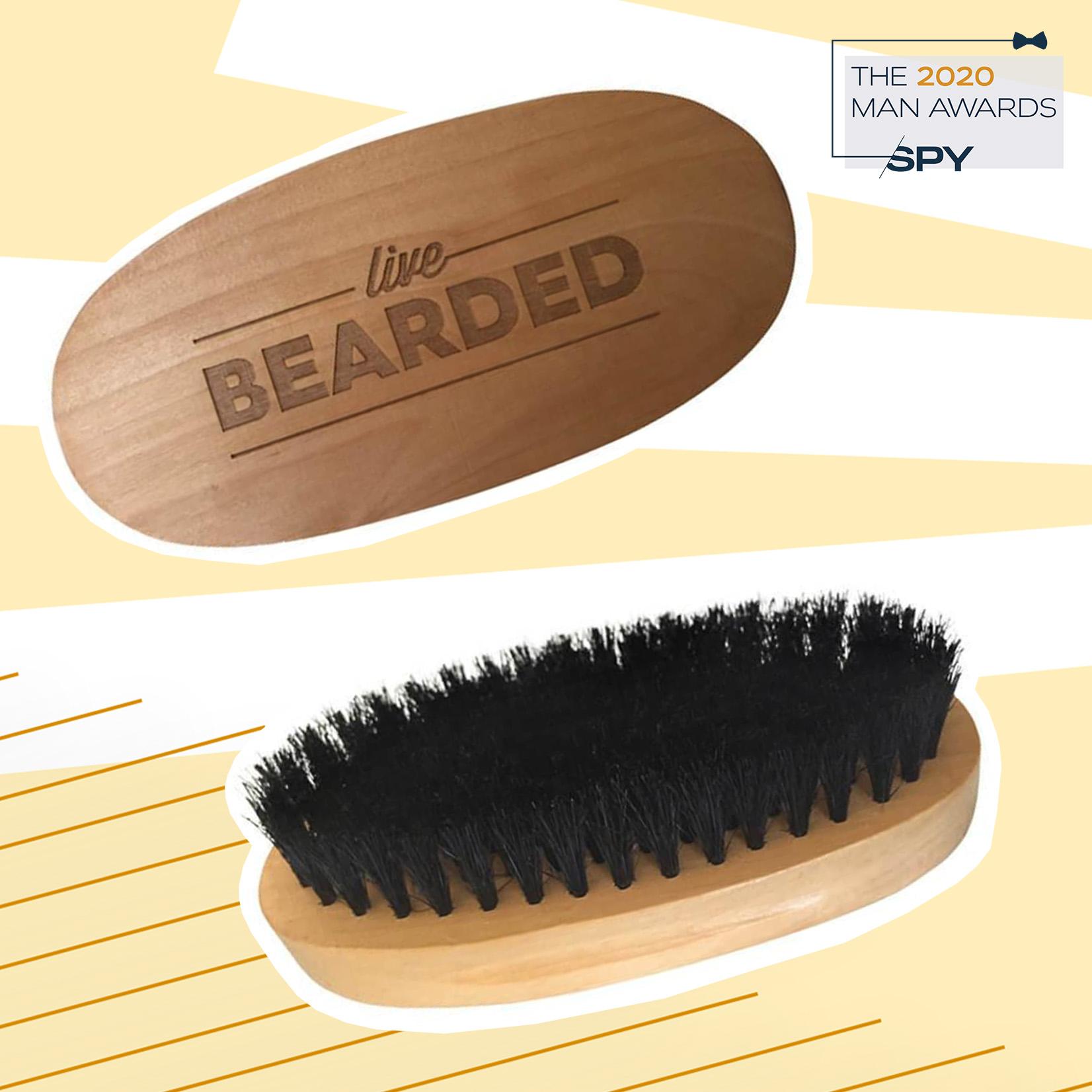 Live Bearded Boar Bristle Beard Brush, best beard care products of 2020