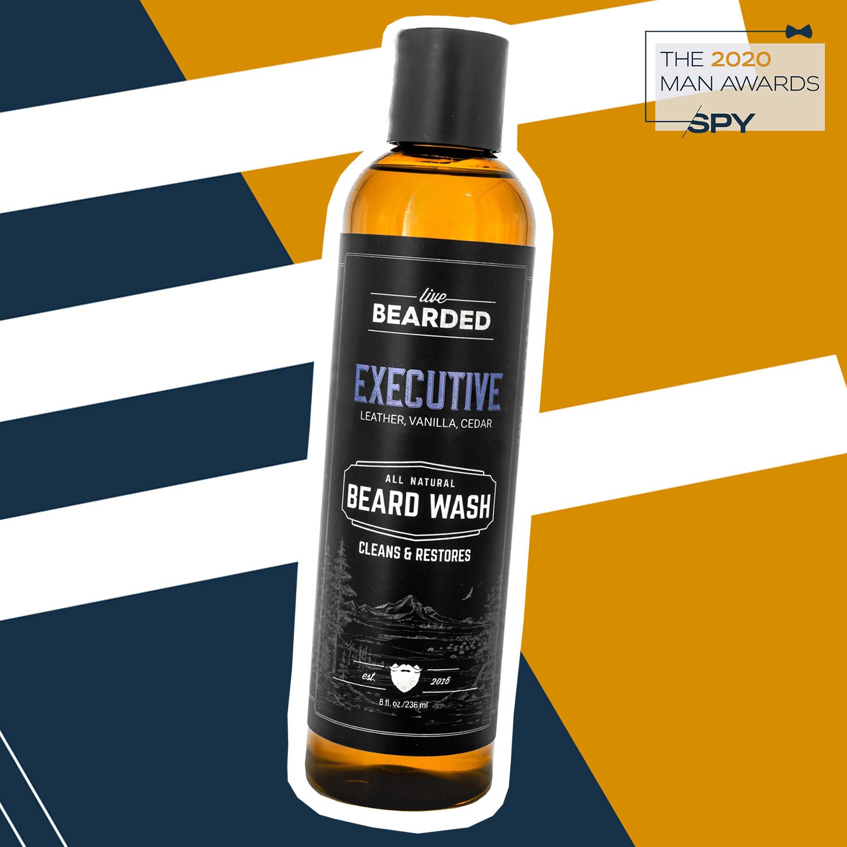 Live Bearded Beard Wash & Shampoo, best beard care products of 2020