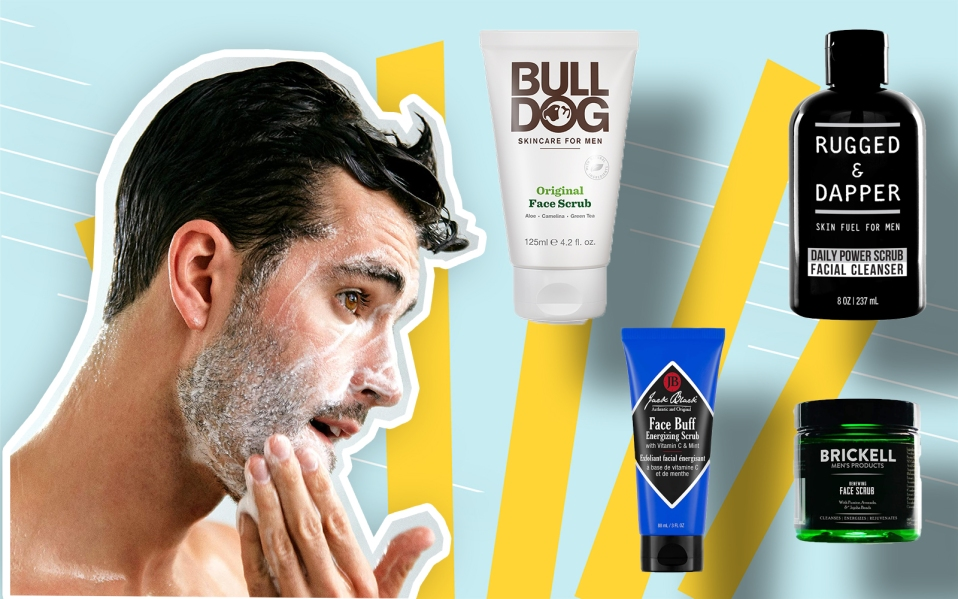 best facial scrubs featured image