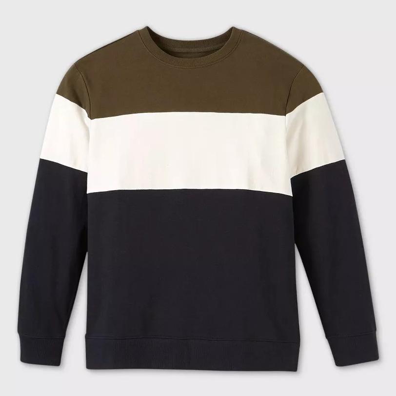 Target Colorblock Crewneck Sweatshirt