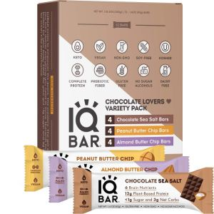 IQBAR keto energy bars, best energy bars