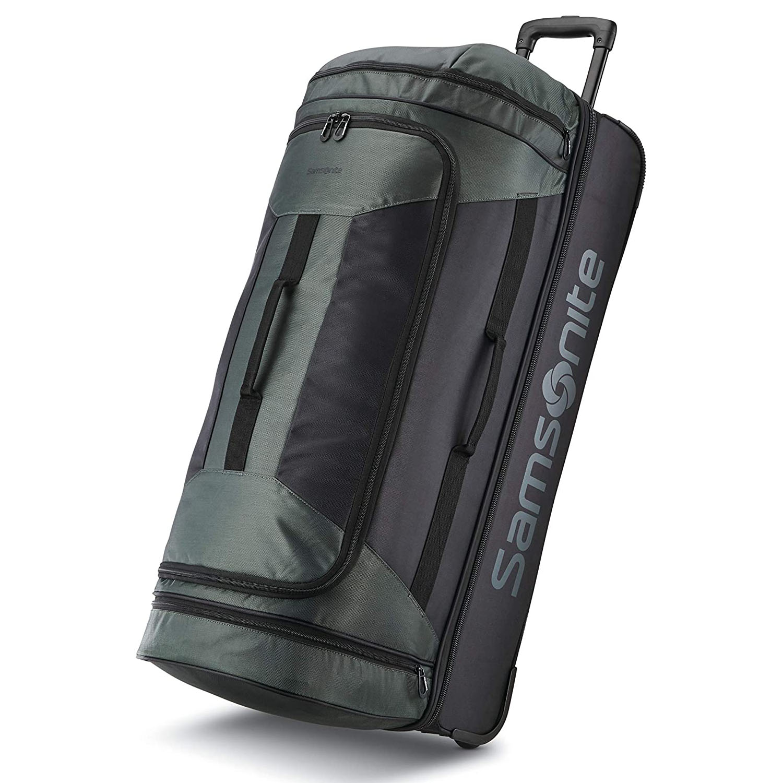 Samsonite Andante 2 Drop Bottom Wheeled Rolling Duffle Bag