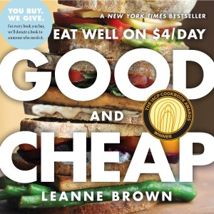 good and cheap: eat well on $4/day, best cookbooks
