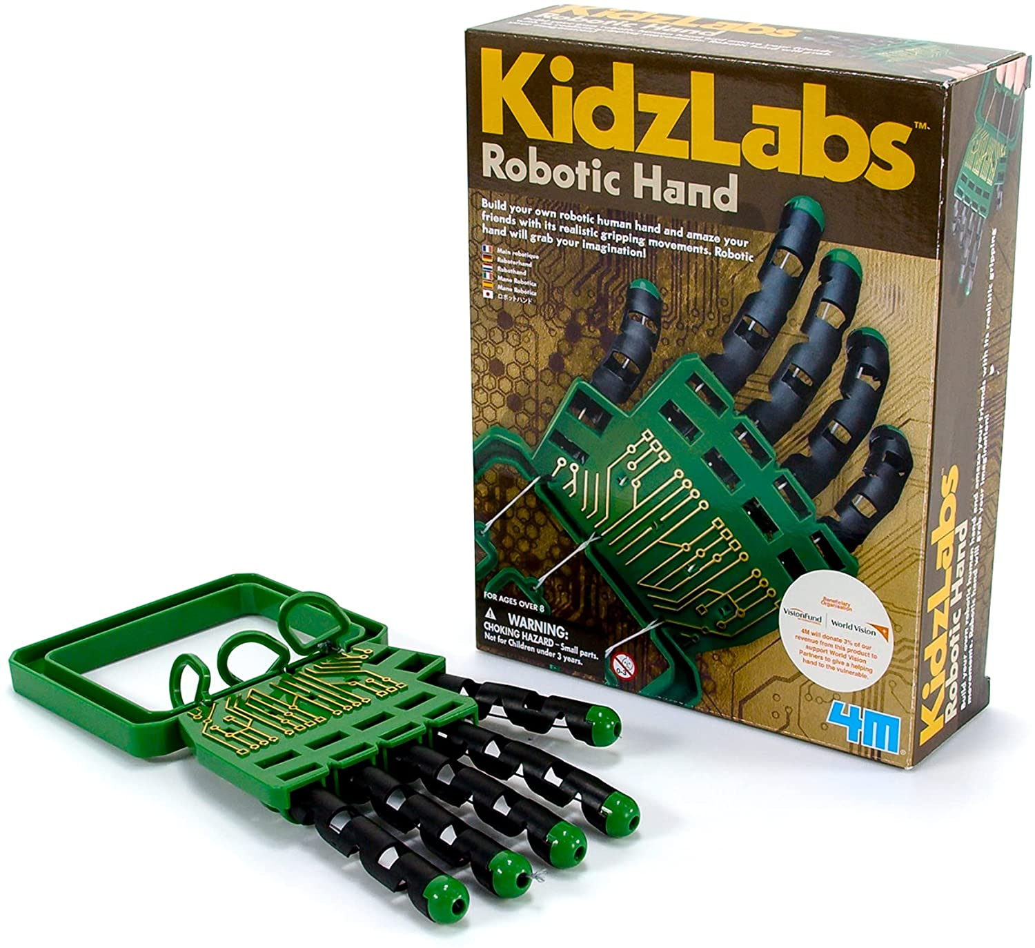 robotic hand for kids to build