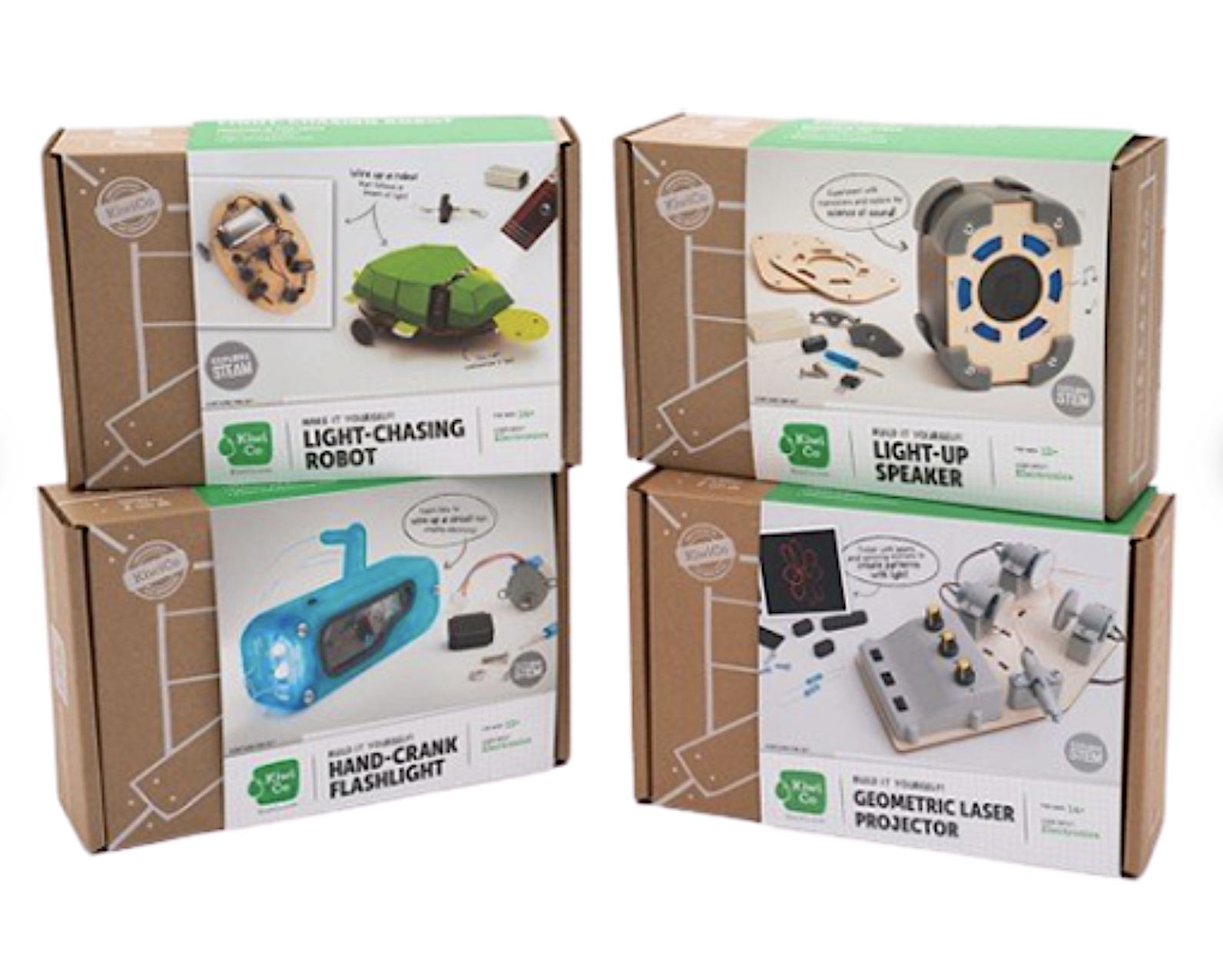 curated electronic kit boxes