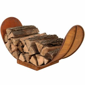 Milwood Pines Ramiro Firewood Log Rack, best firewood racks