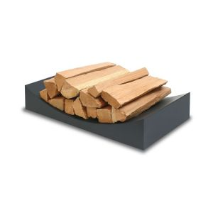 best firewood racks - West Elm Minimalist Firewood Holder