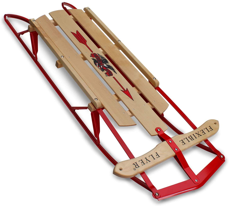 flexible flyer metal runner snow sleds