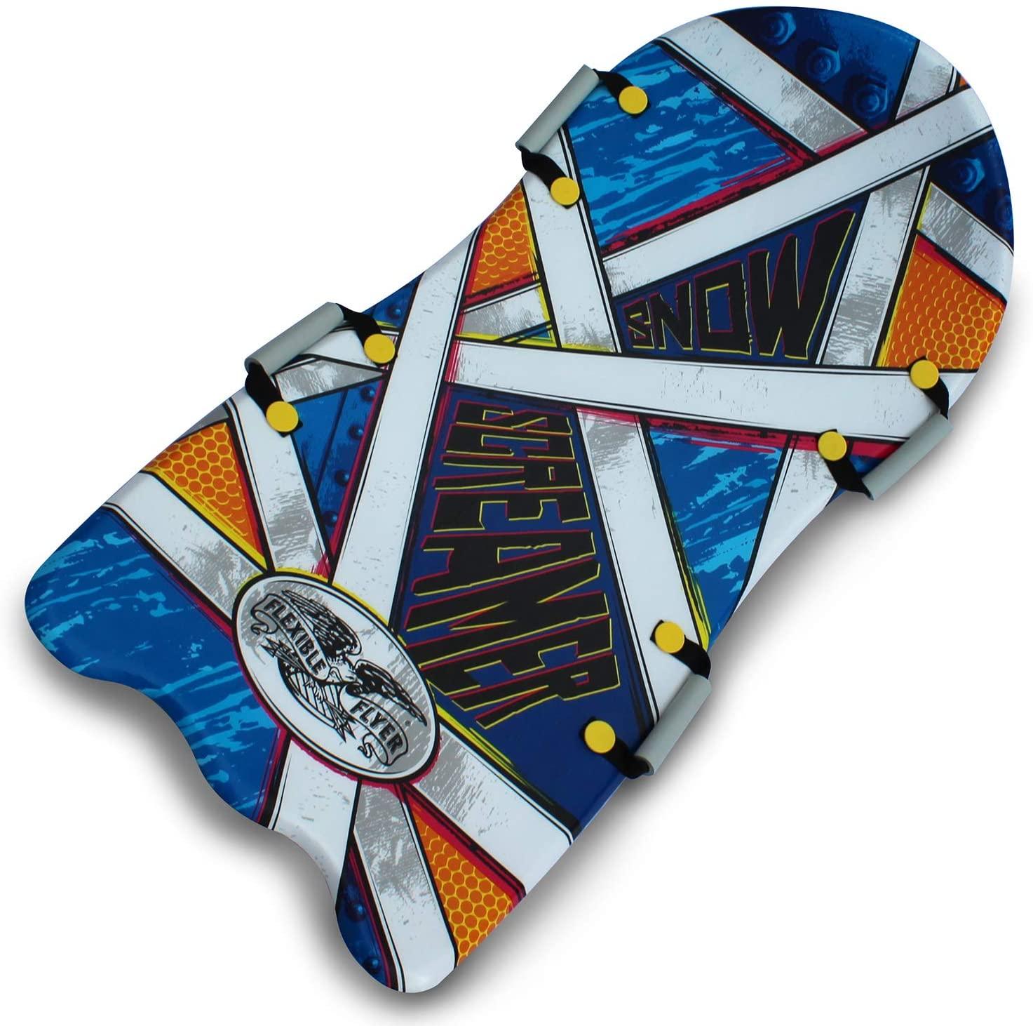 flexible flyer snow screamer, best snow sleds