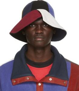 BETHANY WILLIAMS Multicolor Recycled Fleece Bucket Hat