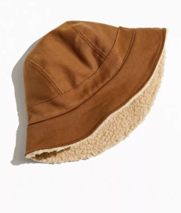 David Catalán Sherpa-Lined Bucket Hat