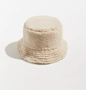 UO Sherpa Bucket Hat, fur bucket hats