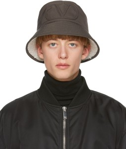 VALENTINO Khaki Valentino Garavani Bucket Hat