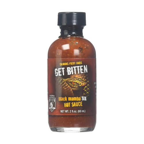 get bitten black mamba hot sauce, hottest hot sauces