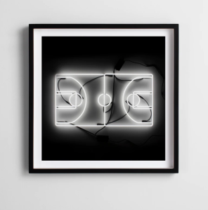 Andy Blank Hoops Photographic Print, gifts from small businesses