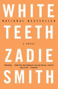 gifts from small businesses - White Teeth by Zadie Smith from Bookshop.org