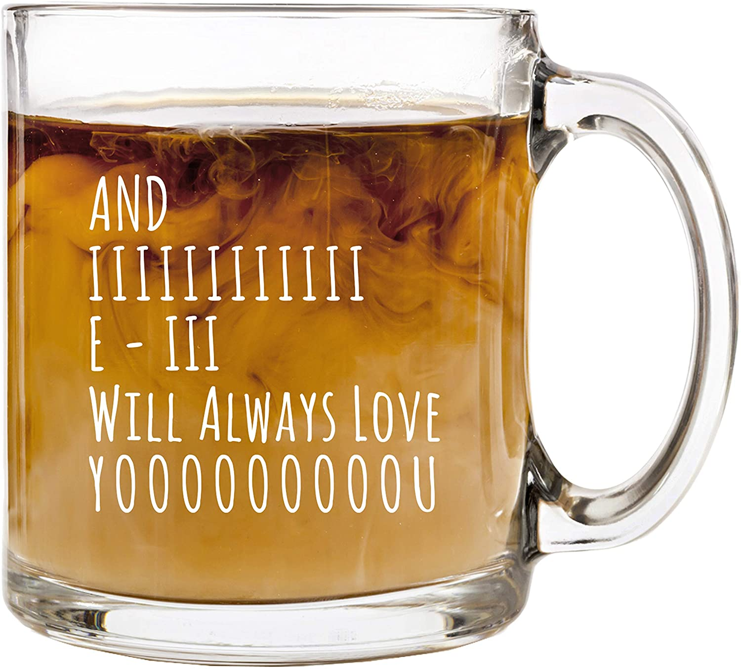 i will always love you mug, valentine's day gift ideas 2021